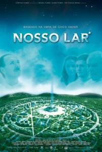 """Cartaz do filme """"Nosso Lar"""""""