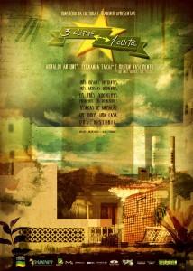 Cartaz Projeto 3 Clipes 1 Curta